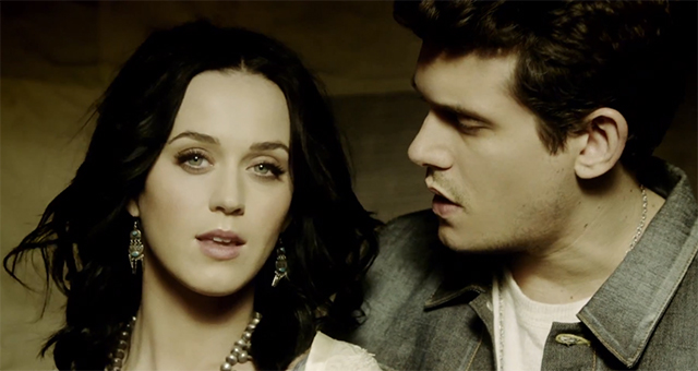 john mayer + katy perry